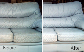leather furniture cleaning and protecting