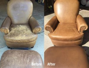 Leather Chair Restoration