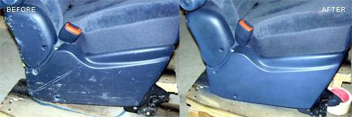 Scratched plastic and vinyl repair