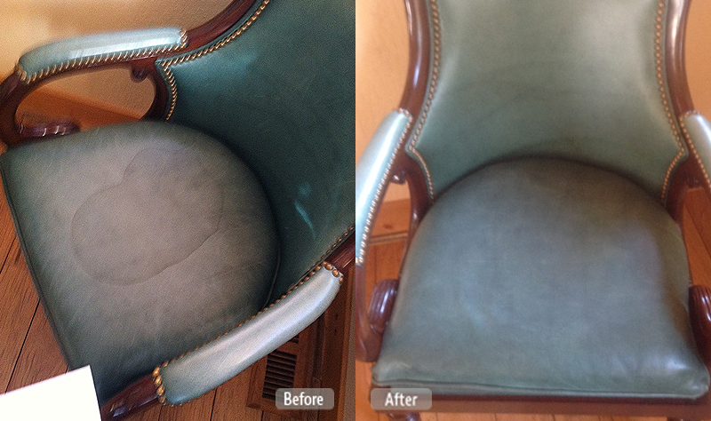 Removal of Stain on Chair