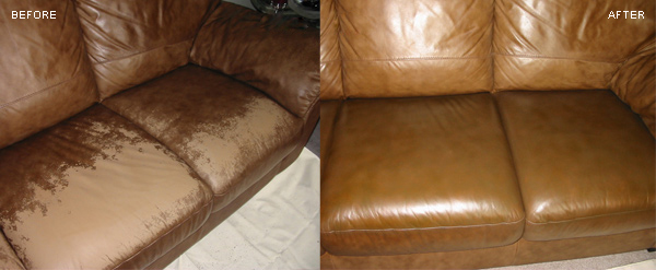 Leather Couch Repair