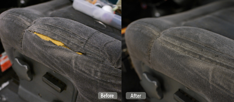 Automotive Fabric Seat Repair