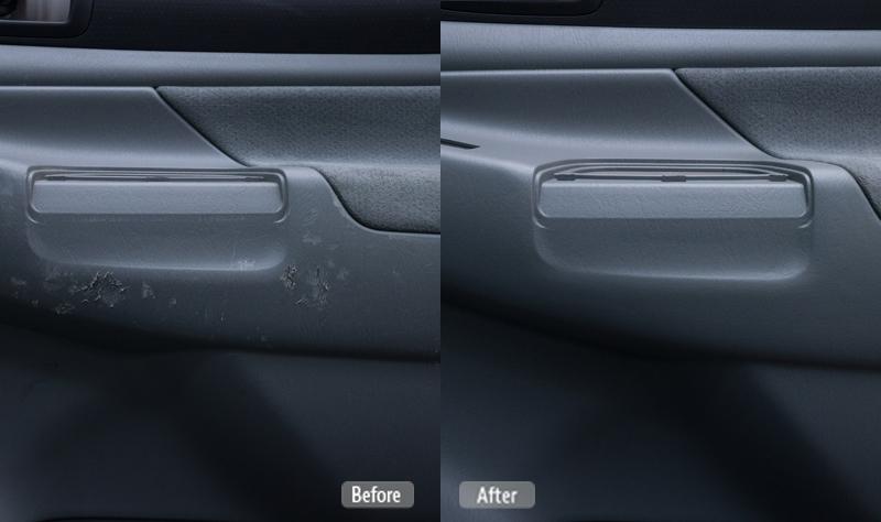 Damaged Vehicle Door Panel Repair