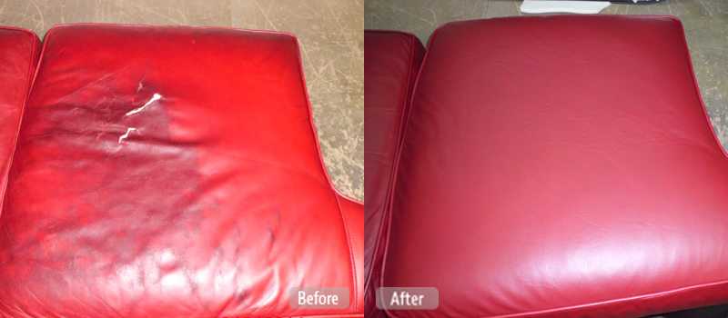 Leather repair, renewal and cleaning