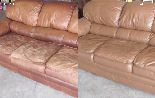 Leather Sofa Restoration