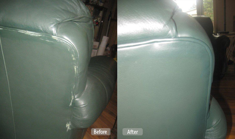 Residential Market Leather Furniture And Couch Repair