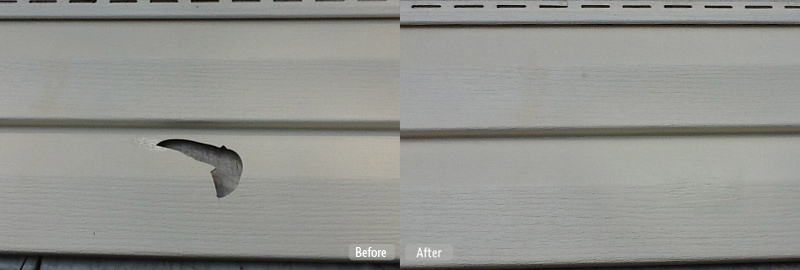 Vinyl Cladding Repair